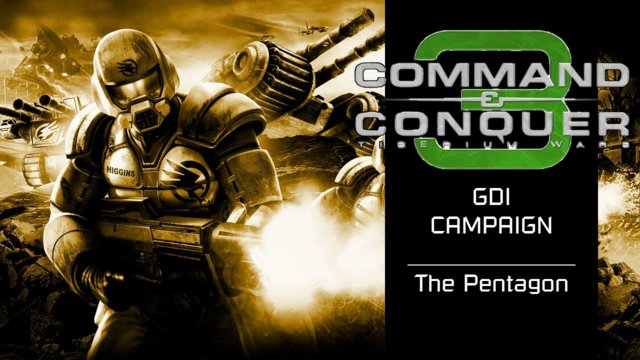 Command & Conquer 3: Tiberium Wars | GDI [2] | The Pentagon [Story]