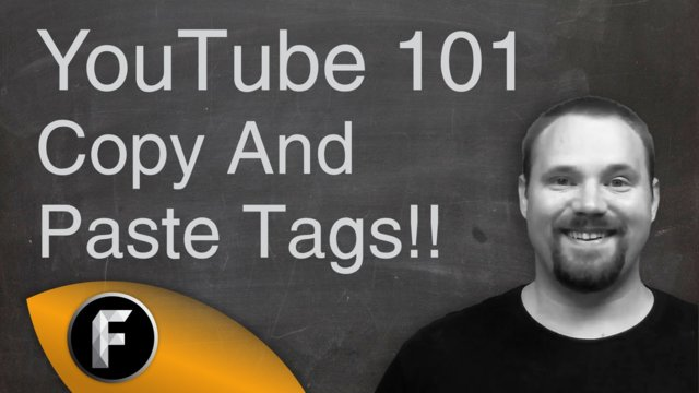 Copy And Paste YouTube Tags - YouTube 101