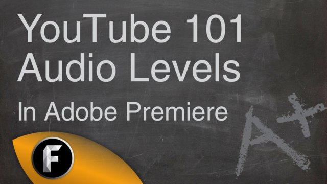 How to fix audio levels in Adobe Premiere Pro - YouTube 101