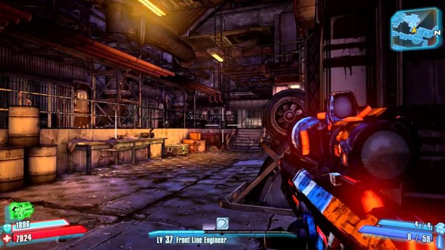 Borderlands 2 - Challenge Guide - Cult of the Vault (Bloodshot Stronghold)