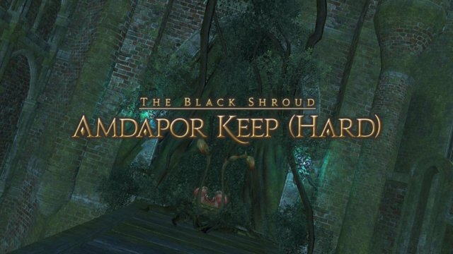 Final Fantasy XIV: Heavensward - Amdapor Keep Hard Solo (WAR)