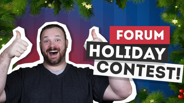 ★ Forum Holiday Contest - Win OVER $100 worth of prizes! #FreedomFamily