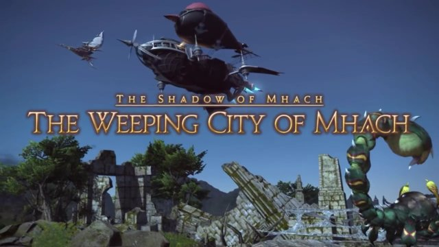 Final Fantasy XIV: Heavensward - The Weeping City of Mhach (DRK)