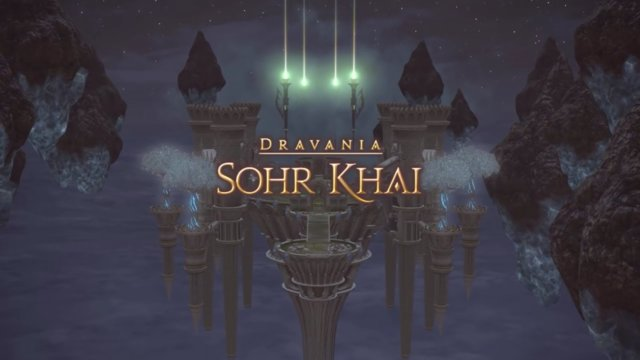 Final Fantasy XIV: Heavensward - Sohr Khai (DRK)
