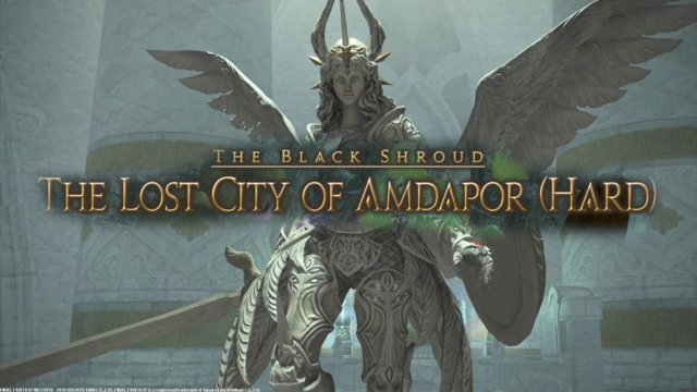 Final Fantasy XIV: Heavensward - The Lost City of Amdapor Hard (DRK)