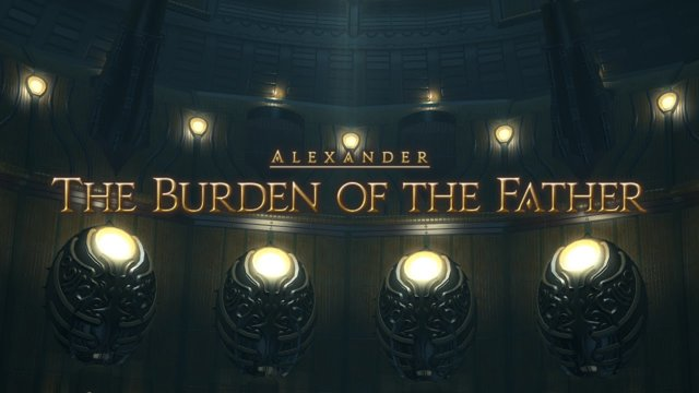 Final Fantasy XIV: Heavensward - The Burden of The Father (DRK)