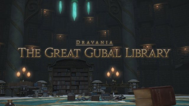 Final Fantasy XIV: Heavensward - The Great Gubal Library (DRK)