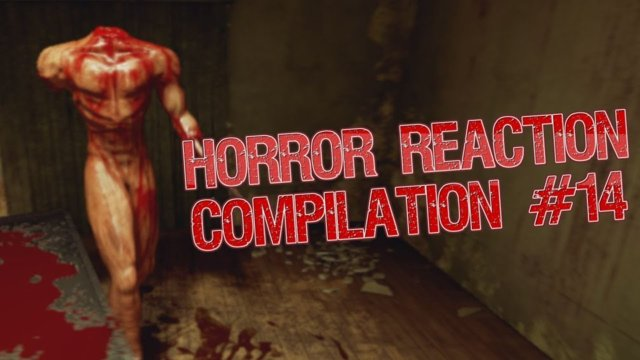 Horror Reaction Compilation 14
