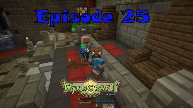 "Let's Play Wynncraft Episode 25 ""Tribal Peace and Secret Temples"""