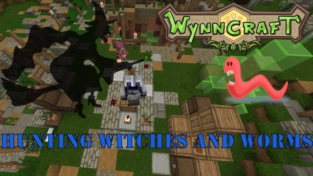 "Let's Play Wynncraft Episode 50 ""Hunting Witches and Worms"""