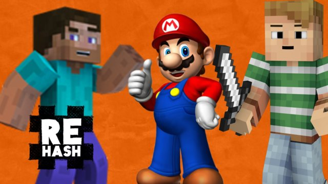 Video Remix, Mario 64 glitch bounty, and Minecraft goes cross platform?! #Rehash #FreedomFamily