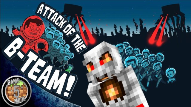 Attack Of The B Team Modpack Letsplay Minecraft Episode 19 - Minecraft Cave Diving