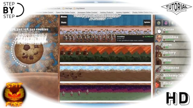 How To Hack Cookie Clicker [New] - Hacked Cookies Taste Terrible [Chrome] Cookie Clicker Cheat