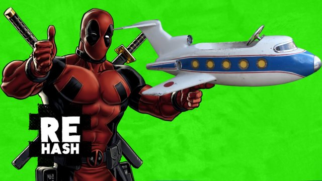 Deadpool Trailer Teaser, and an airbus from London to NYC in 1 hour?! #Rehash #FreedomFamily