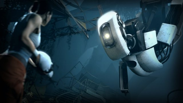 Portal 2 Walkthrough with Spitfire - Wheatley did it! he woke HER!