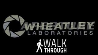 Portal 2 Walkthrough with Spitfire - Smashing Monitors and loving it to death.