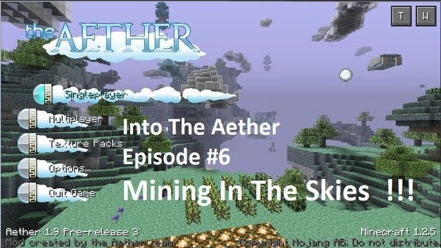 Into The Aether With SpitFire - Mining In The Skies!!!