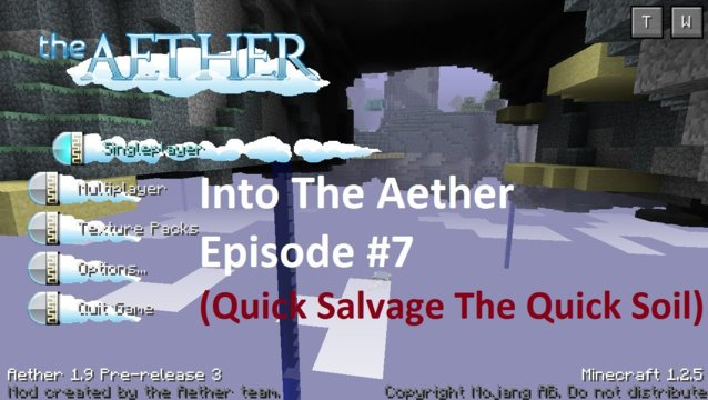 Into The Aether With SpitFire - Quickly Salvage the QuickSoil