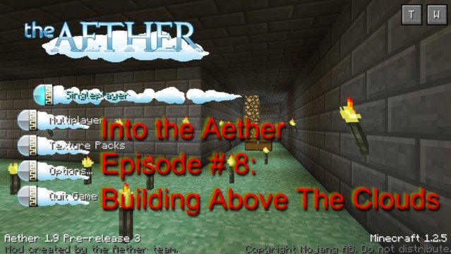 Into The Aether With SpitFire - Building Above The Clouds!!!