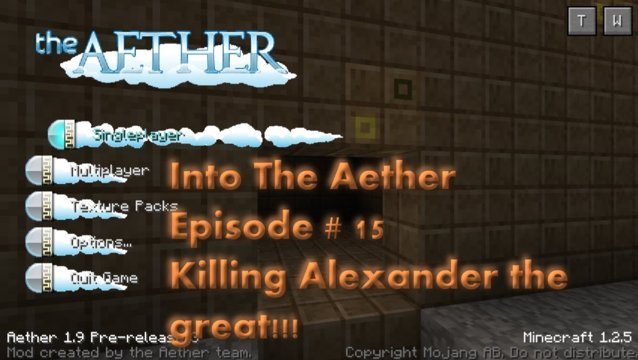 Into The Aether With SpitFire - Killing Alexander the Great!!!