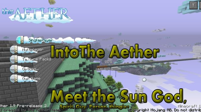 Into The Aether With SpitFire - Meet the: Sun God, Spirit, Guy, person, thingie?