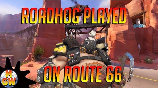 RoadHog Played on Route 66 - Hero Challenge Overwatch @MikesGameWorld