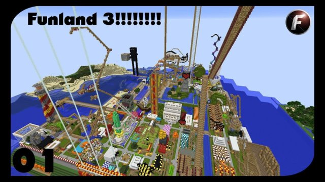 Jumping off The Worlds Biggest Diving Board || Funland 3 || Minecraft