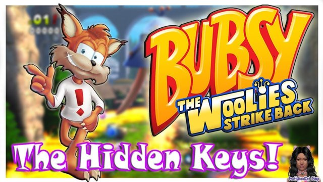The Hidden Keys - Bubsy The Woolies Strike Back  (Level 1)