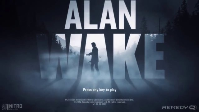 IT'S JUST A NIGHTMARE  -  Alan Wake part 1