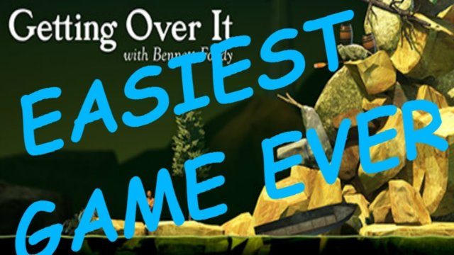 THIS GAME IS EASY!!!! (Getting Over It with Bennett Foddy)