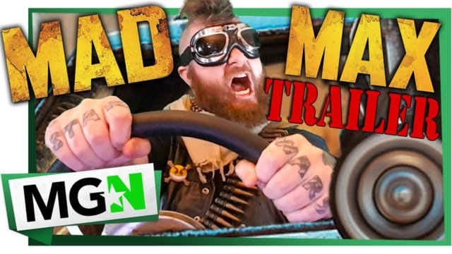 MAD MAX - LIVE THIS SUNDAY - ON MGN