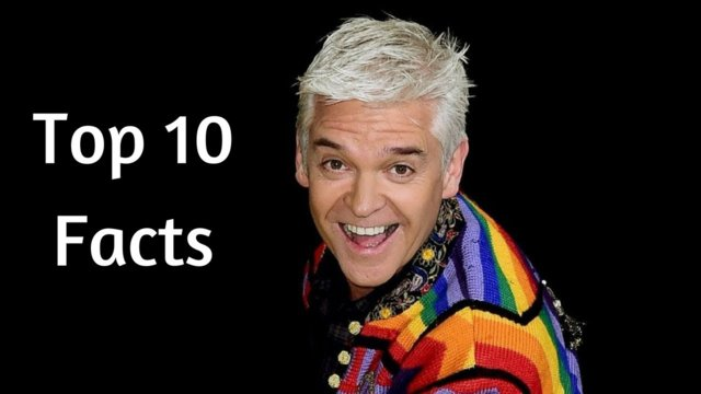 Top 10 Facts About Phillip Schofield - This Morning and Dancing on Ice Presenter!