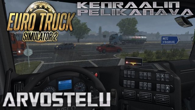Let's check: Euro Truck Simulator 2 with English subtitles.
