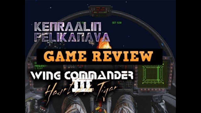 Let's check: Wing commander 3: Heart of the Tiger