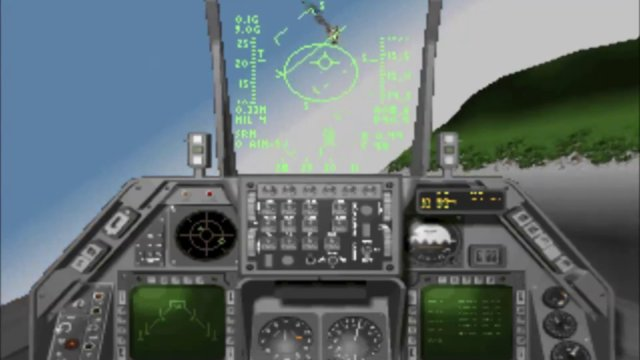 Let's check: Strike commander cd-rom version