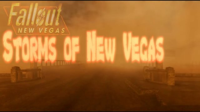 Stormy Fallout New Vegas days