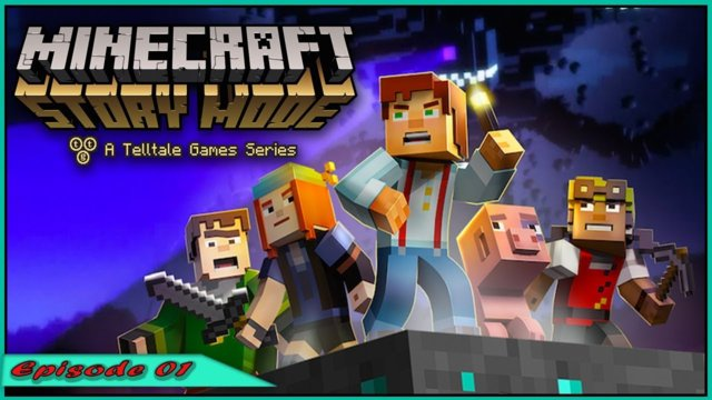 Minecraft Story Mode S1 - No more losing |Episode 1|