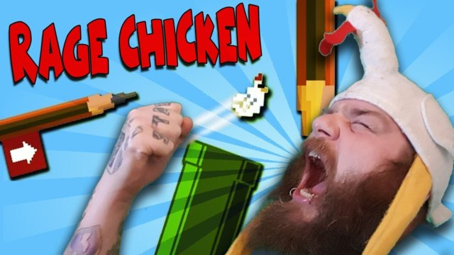 Getting Over It - Rage Chicken