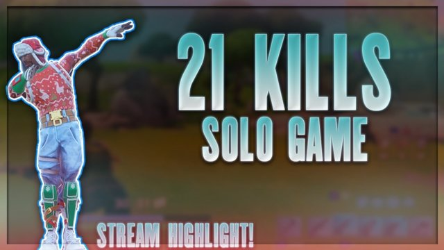 SOLO MADNESS! 21 KILLS! - Fortnite Stream Highlight!