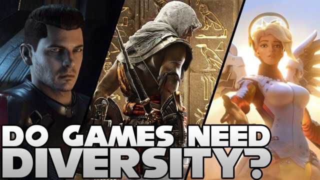 MORE Diversity in Video Games?