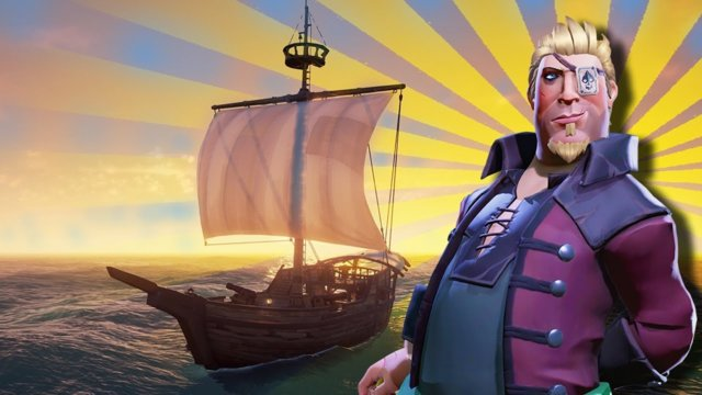 Sea Of Thieves How To Be A Solo Pirate - The Small SLOOP Ship (Tips and Tricks)