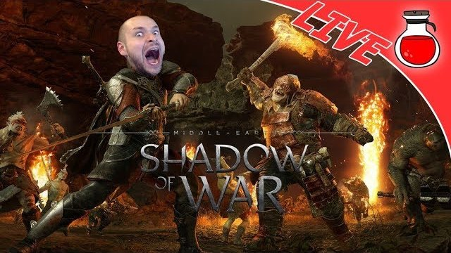 IT'S ORC SLAUGHTER TIME | Shadow Of War | Sunday Bang-A-Thon