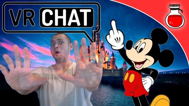 MICKEY MOUSE LOSES CONTROL | VRCHAT