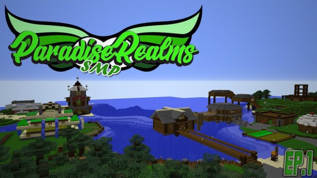 ⚔️Paradise Realms SMP || A New start |Ep.1|