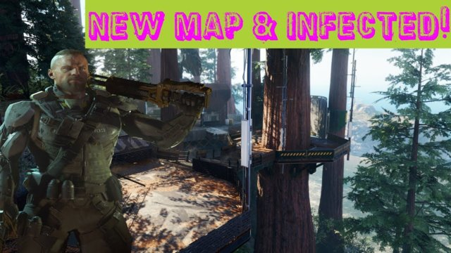 New map & Infected! - Black ops 3