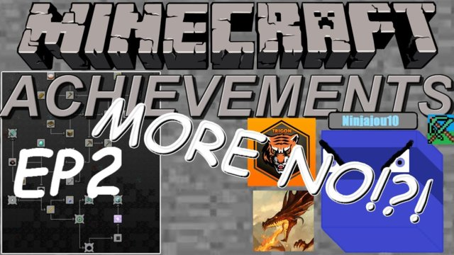 Minecraft achievements (vanilla) ep.2: EVEN MORE NO!?!