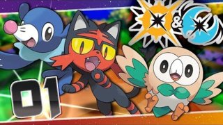 Pokemon Ultra Sun Lets Play LIVE! [1] Who Will It Be!? Pokemon Ultra Sun and Ultra Moon