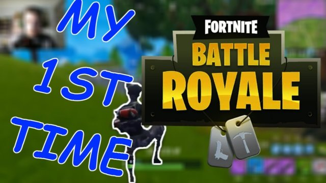 I'M PLAYING FORTNITE!!! (battle royale)