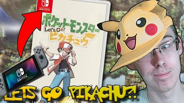 THE HECK IS LET'S GO PIKACHU?! - NEW POKEMON 2018
