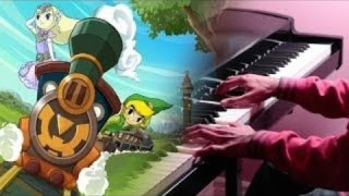 "Zelda: Spirt Tracks - ""Full Steam Ahead"" Piano Cover - Connor M."